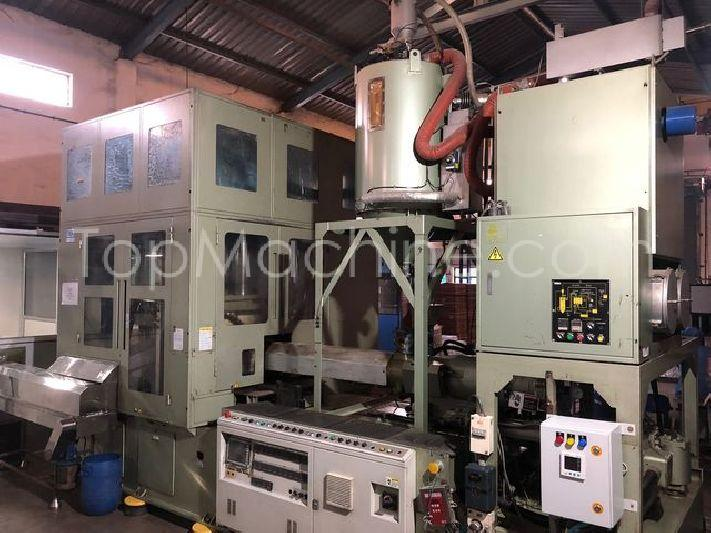 Used Aoki SBIII-350LL-40 Bottles, PET Preforms & Closures PET Injection Blow Molding