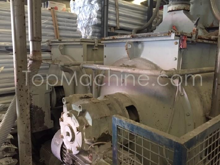 Used Caccia CP/1000 AG/3000 x 2 Compounding Mixers