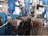 Used Corma 120 HS Vacuum Extrusion Corrugated pipe line
