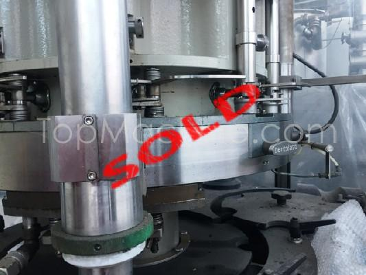 Used Bertolaso Delta 609 RS Beverages & Liquids Capper