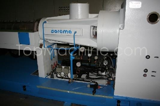 Used Sorema ETR 160 39D Recycling Repelletizing line