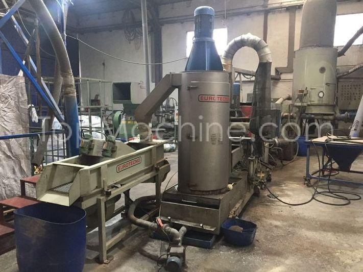 Used Eurotecno 125 35D Recycling Repelletizing line