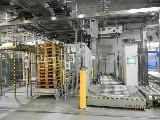 Used OYSTAR A+F 350/Q Beverages & Liquids Palletizer & Pallet wrapper