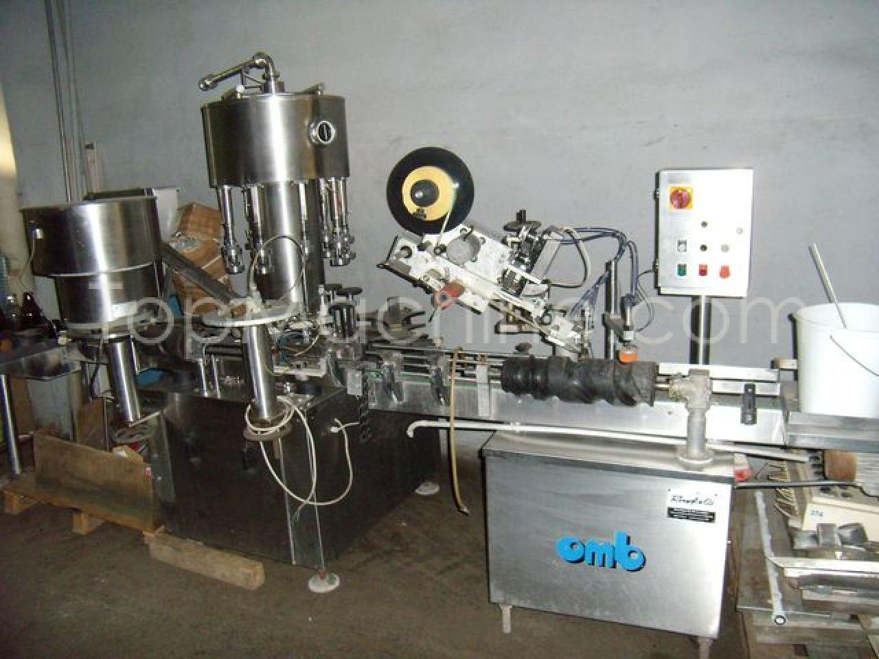 Used OBM Europa 9 Dairy & Juices Bottle Filling