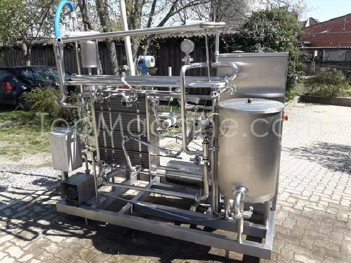 Used Fischer Eurocal Dairy & Juices Pasteurizer