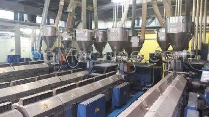 Used Tecnocoating CAST 3000 Film & Print Co-extruder Cast line