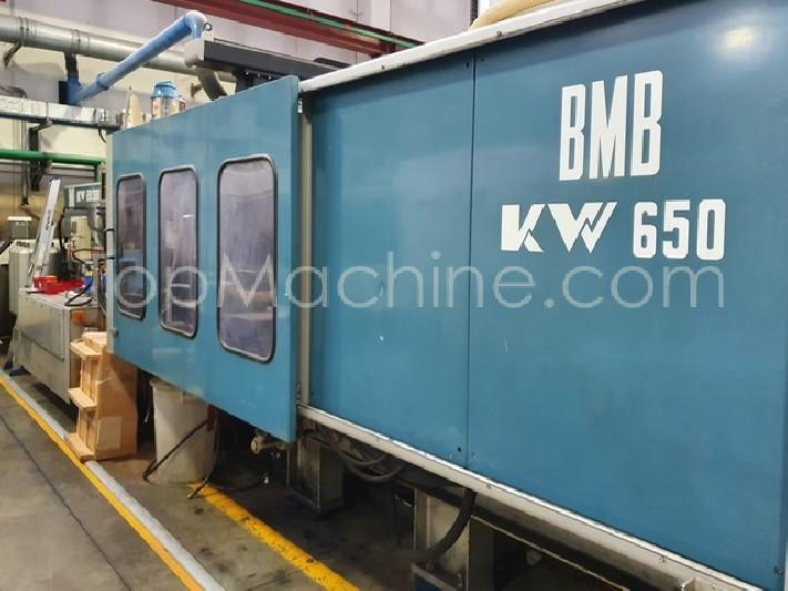Used BMB KW 650 Injection Moulding Clamping force up to 1000 T