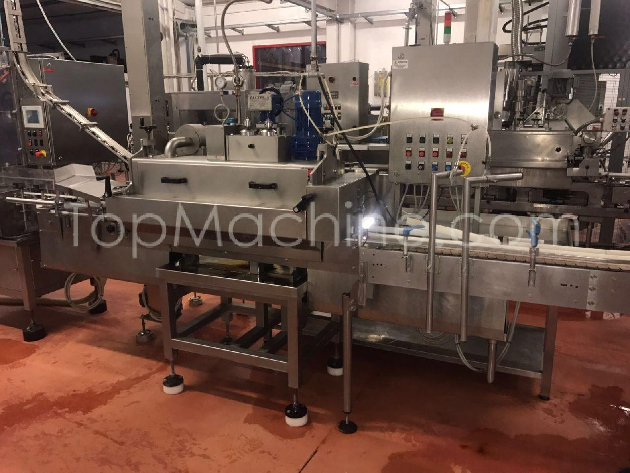 Used Alcos D.V.A. 2/1 Beverages & Liquids Hot-Fill line