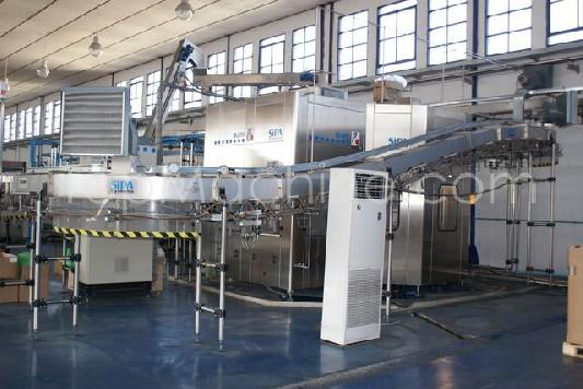 Used Sipa 40.50.10 Beverages & Liquids Mineral water filling