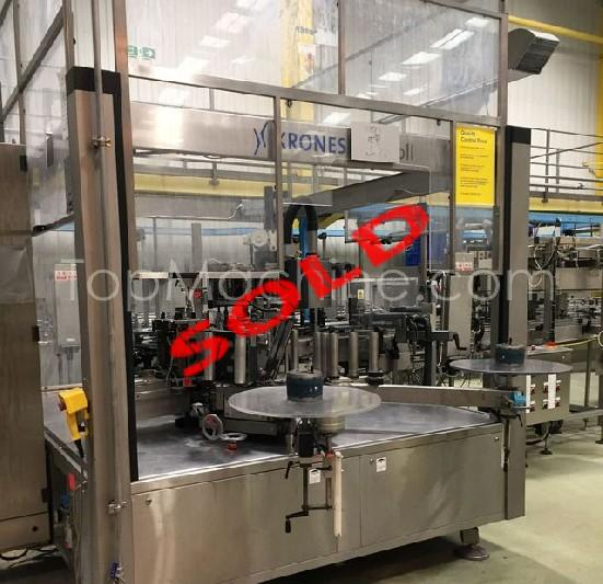 Used Krones Contiroll Beverages & Liquids Labeller