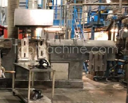 Used Erema PC 1721 TVE HG, cascade extruder Recycling Repelletizing line