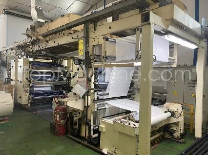 Used Carint Carraro 996 Mod. 160 Film & Print Stack flexo printing