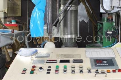 Used Kiefel BK 125-500 Film & Print Mono extruder for blown Film