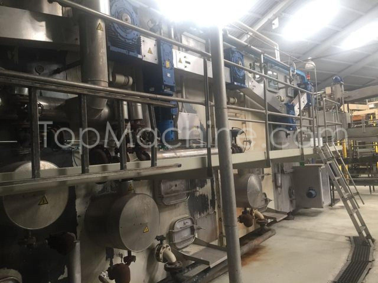 Used Meyer Tristar 65/15 Beverages & Liquids Glass filling line