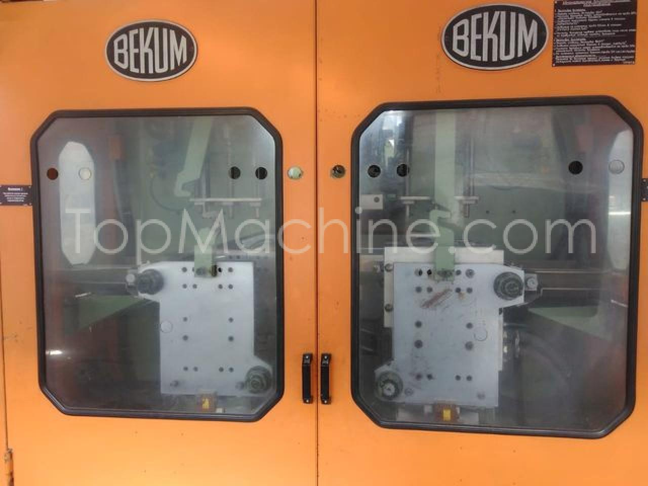 Used Bekum H 121 Bottles, PET Preforms & Closures Extrusion Blow Molding