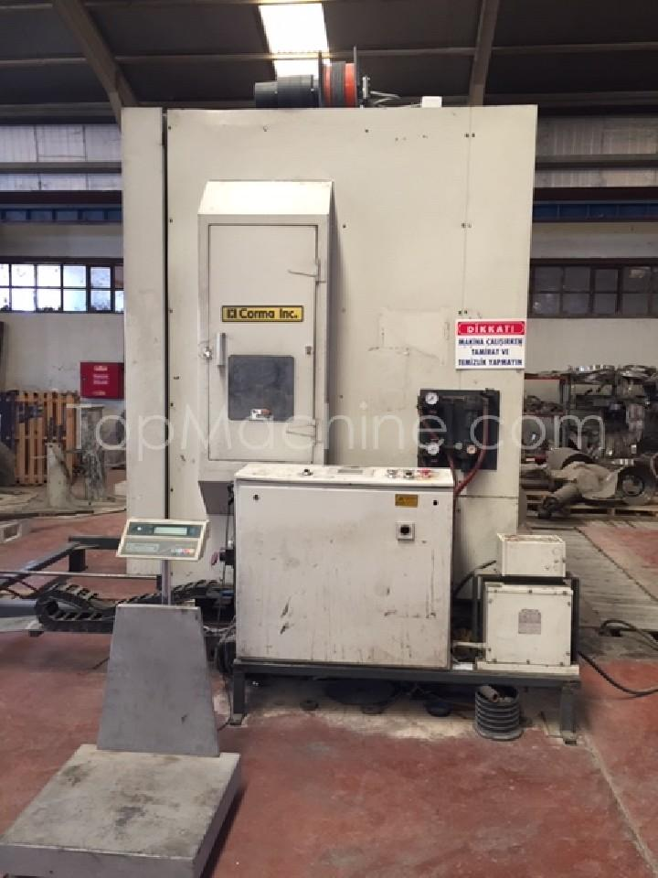 Used Corma 4020-7.6 MQR Extrusion Corrugated pipe line