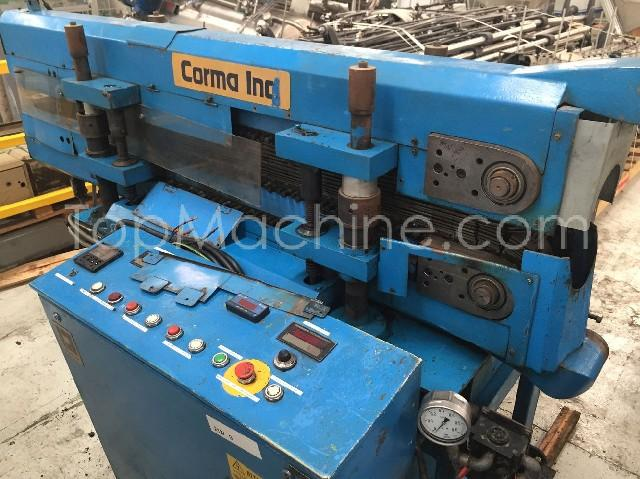 Used Corma 120 HS Extrusion Corrugated pipe line