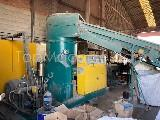 Used Erema RM100 TVE Recycling Repelletizing line