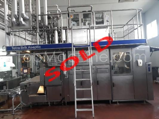Used Tetra Pak TBA 19 125ml Dairy & Juices Aseptic filling