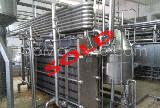 Used Alfa Laval FRONT 8 RM Dairy & Juices Pasteurizer