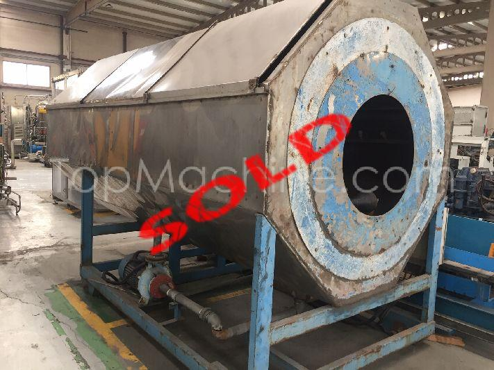 Used Hegler 1200 Extrusion Cooling tank