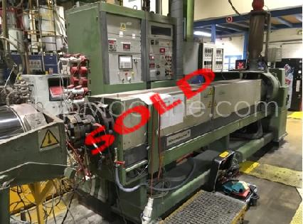Used Nokia Maillefer NMA 120 Extrusion PE/PP extruder