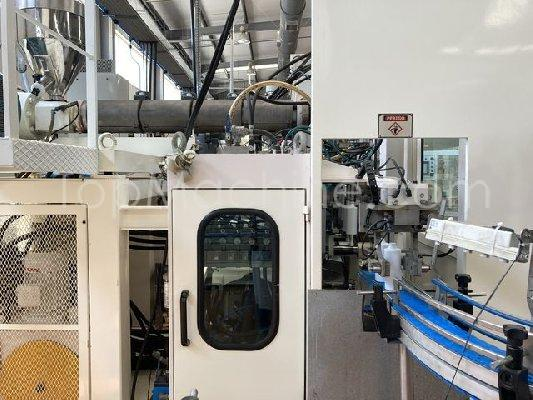 Used AKEI AO 50-SN-TS Bottles, PET Preforms & Closures Extrusion Blow Molding