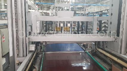 Used Cermex P432.20 Beverages & Liquids Palletizer & Pallet wrapper